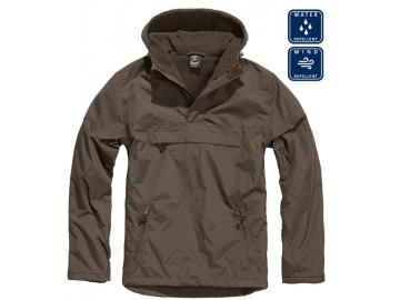BRANDIT Windbreaker mit Fleece-Futter, braun