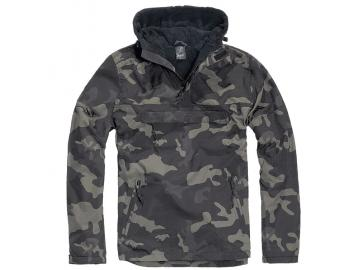 BRANDIT Windbreaker mit Fleece-Futter, dark camo