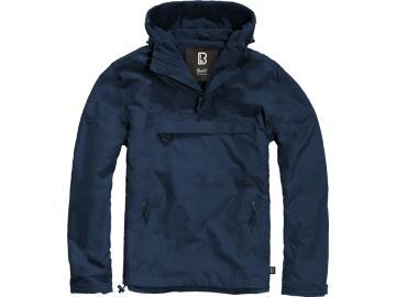 BRANDIT Windbreaker mit Fleece-Futter, navy blau
