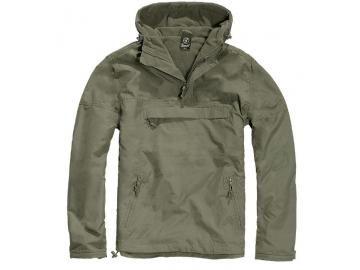 BRANDIT Windbreaker mit Fleece-Futter, oliv