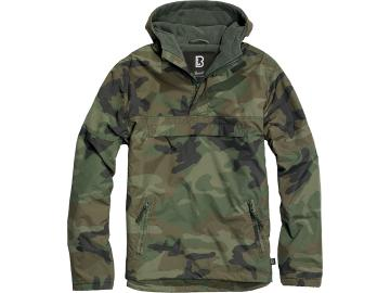 BRANDIT Windbreaker mit Fleece-Futter, woodland