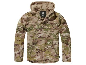 BRANDIT Windbreaker mit Fleece-Futter, tactical camo