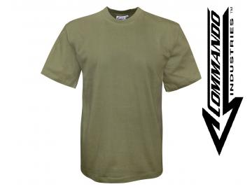T-Shirt 'Commando Industries', oliv