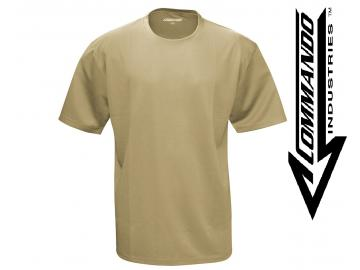 Tactical Funktions T-Shirt 'QuickDry', beige