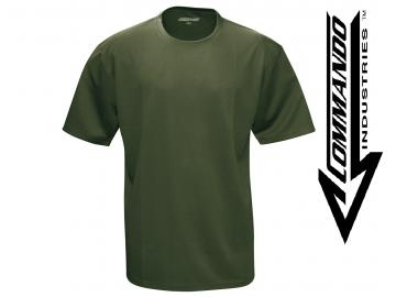 Tactical Funktions T-Shirt 'QuickDry', oliv