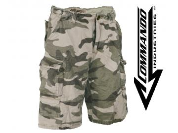 Cargo Shorts 'Vintage Big Game', woodland