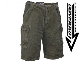 Cargo Shorts 'Vintage Big Game', oliv