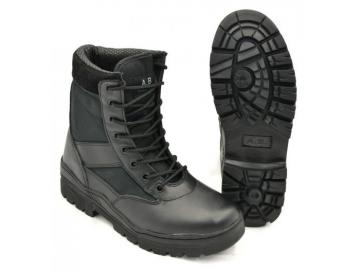 Army-Stiefel / Outdoor-Tactical-Boots, schwarz
