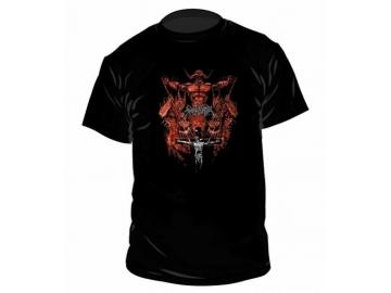T-Shirt 'Angelcorpse - Christhammer', 100% Baumwolle