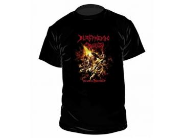 T-Shirt 'Blasphemic Cruelty Devil's Mayhem', 100% Baumwolle