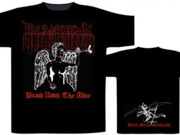 T-Shirt 'Blasphemy - Blood upon the Altar', 100% Baumwolle