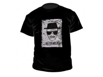 T-Shirt 'Breaking Bad Heisenberg', 100% Baumwolle