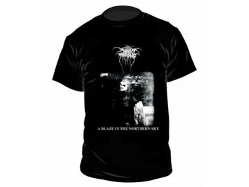 T-Shirt 'Darkthrone - A Blaze In The Northern Sky', 100% Baumwolle