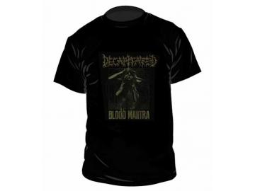 T-Shirt 'Decapitated - Blood Mantra Tour', 100% Baumwolle