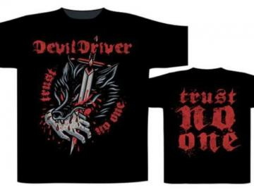 T-Shirt 'Devil Driver - Bite The Hand', 100% Baumwolle