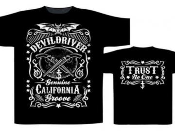 T-Shirt 'Devil Driver - California Groove', 100% Baumwolle