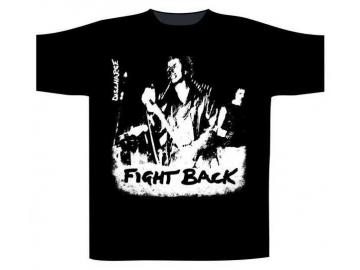 T-Shirt 'Discharge - Fight Back', 100% Baumwolle